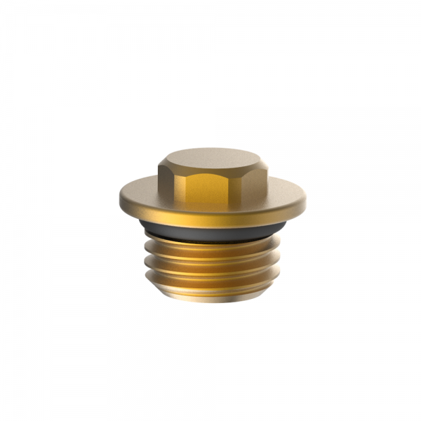 cap with o ring