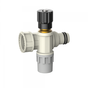 multi-rapid manifold with shut off valve