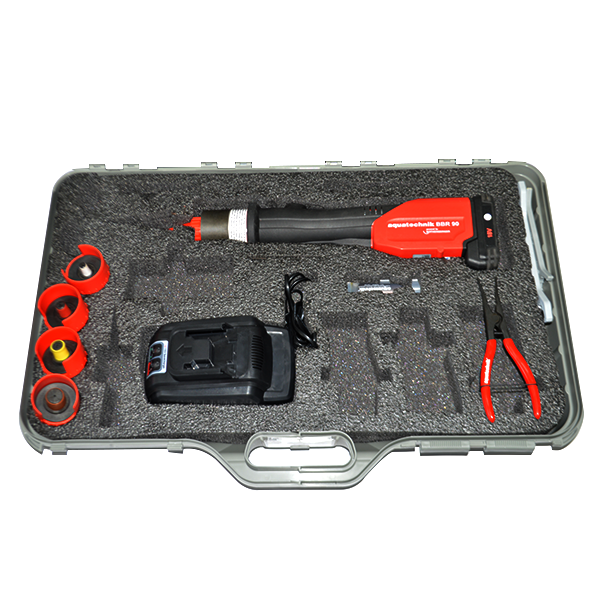 BBR90 coupling tool kit with accessories